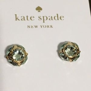 Kate Spade Lady Marmalade Stud Earrings Mint